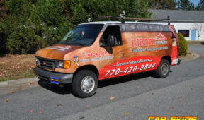 Integrity Services corporate van wrap