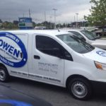 Owen Security corporate fleet wrap.