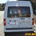 ProCare corporate van wrap with logos and lettering