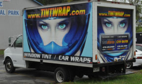 Tint Wrap corporate trailer wrap