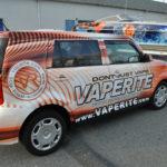 Vaperite corporate SUV wrap.