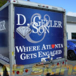 D Geller and Son corporate trailer full wrap