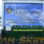 Georgia Horticulture corporate work vehicle wraps