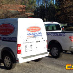 AC Experts corporate wrap with logos and lettering