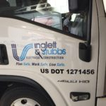 inglett and stubbs work truck wrap