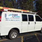 Inglett and Stubbs corporate vehicles logos and lettering.