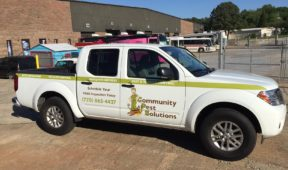 Community Pest Control Partial Wrap