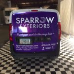 3M Purple Plumb Explosion reflective corporate wrap